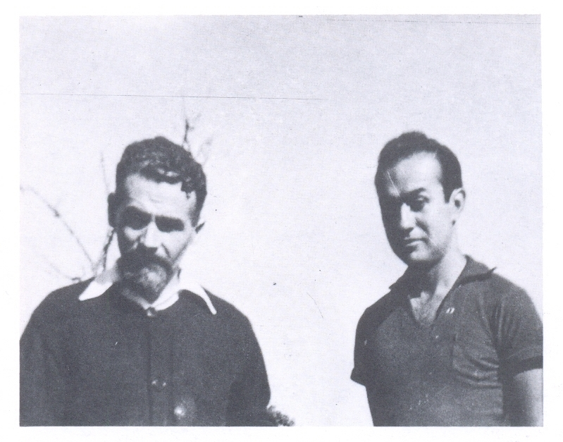 Negret con Jorge Oteiza en Popayán. Catálogo, Negret de la Máquina al Mito